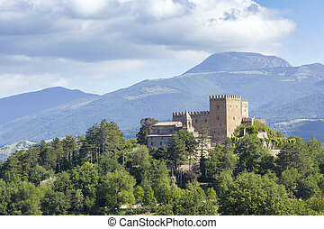 castle Italy Marche - An image of a nice castle in the...