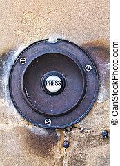 Doorbell - Door Bell - Press Door Bell - Traditional brass...