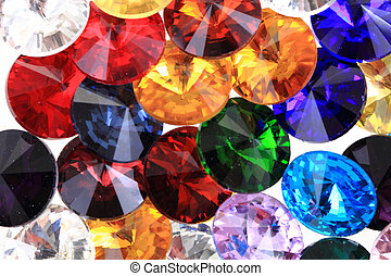 color glass diamonds as nice fashion background
