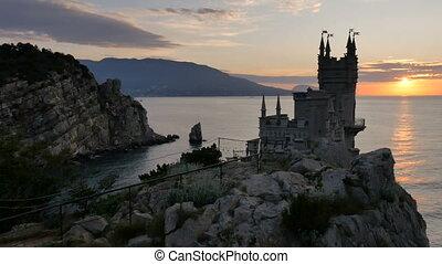 Swallow's Nest Castle Yalta, Crimea HD