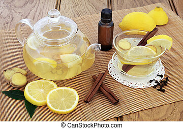 Cold Remedy Drink - Cold and flu alternative medicine with...