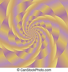 Fractal Design. Colored Spiral Background. - Fractal Design....