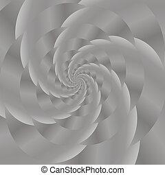 Grey Spiral Background. Fractal Pattern - Fractal Design....