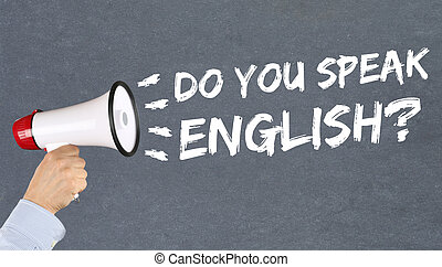 Do you speak English foreign language learning school...