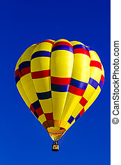 Rocky Mountain Hot Air Balloon Festival - Looking up at...
