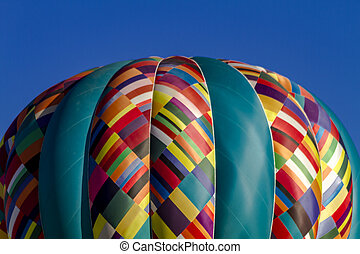 Rocky Mountain Hot Air Balloon Festival - Close up of...