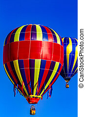 Rocky Mountain Hot Air Balloon Festival - Many brightly...