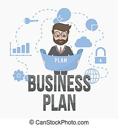 business plan connected