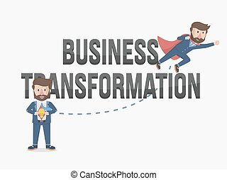 the power business transformation