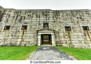 Fort Knox - Maine - Fort Knox on the Penobscot River, Maine,...