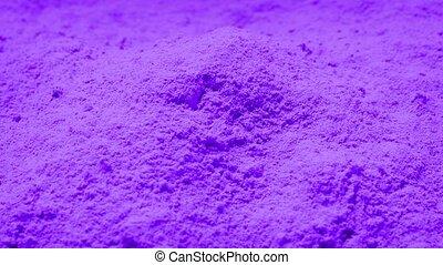 Purple Powder Rotating