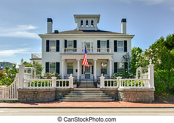 Blaine House - Maine - The Blaine House, also known as James...