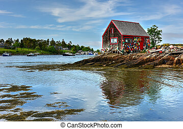 Bailey Island - Maine - Bailey Island in Casco Bay, Maine.