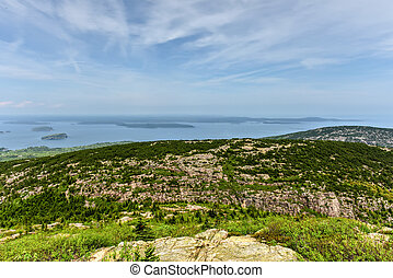 Bill Hill Overlook - Acadia National Park - View from Blue...