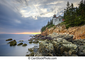 Bass Harbor Head Light, Acadia National Park, Maine - Bass...