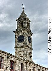 Royal Navy Dockyard - Bermuda - Clocktower at the Royal Navy...