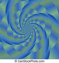 Colored Spiral Background. Fractal Pattern - Fractal Design....