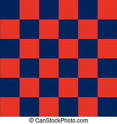 Blue Red Chess Board Background