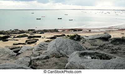 Beach of the Sableaux, Noirmoutier - Beach of the Sableaux...