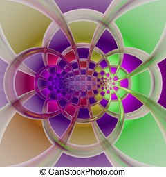 Crazy abstract wallpaper - Abstract crazy psychedelic...