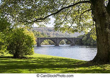 Thomas Telford Bridge, Dunkeld, Scotland - Thomas Telford...