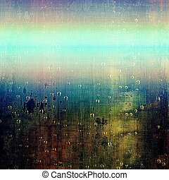 Grunge texture or background with retro design elements and...
