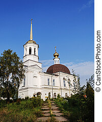 Trinity Cathedral in Onega, Arkhangelsk region, Russia