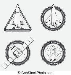 Space shuttle emblem
