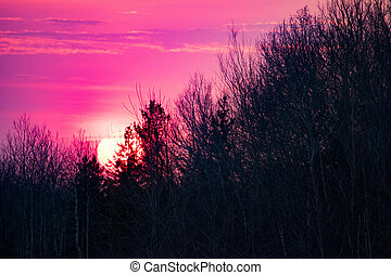 Sunset in bwca - another gorgeous sunset in the boundary...