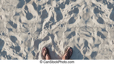 estate, sabbia, vacanza, spiaggia, fondo