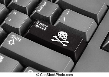 Enter button with Henry Every Pirate Flag
