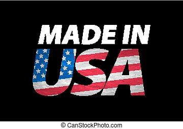 Vector Made in the USA logo vector
