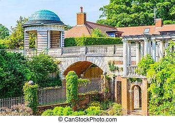 Hampstead Pergola and Hill Garden in London, England