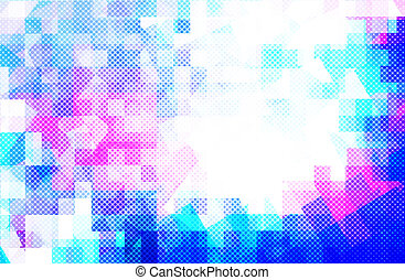 Blue background - abstract blue and pink color background...