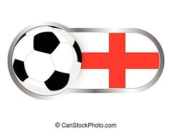 England insignia soccer team
