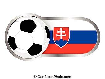 Slovakia insignia soccer team - Modern icon for soccer team...