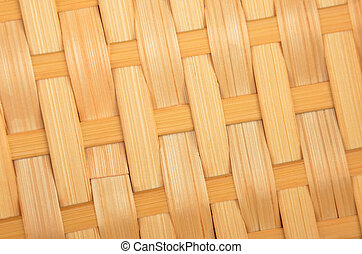 Wickered twig background - Wickered dry twig wooden...