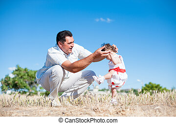 father and 39;s day, father, daughter, man, girl, baby,...
