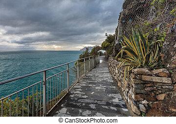Cinque Terre - road of love