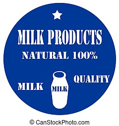 Milk Products-label