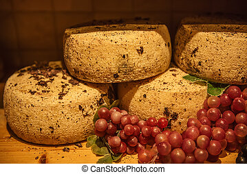 Pecorino sheep cheese - Traditional italian pecorino cheese...