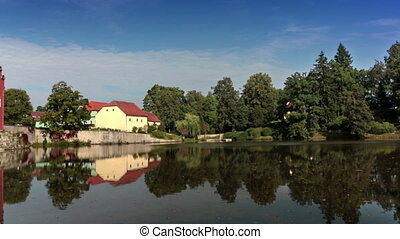 Cervena Lhota Czech Republic Castle on the lake - Cervena...