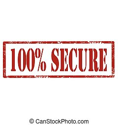 Secure-red stamp