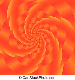 Red Spiral Background. Fractal Pattern - Fractal Design....