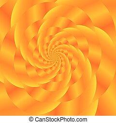 Gold Spiral Background. Fractal Pattern - Fractal Design....