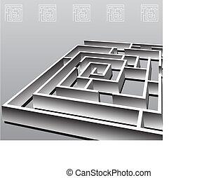 Square Maze