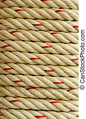 Texture of rough rope background