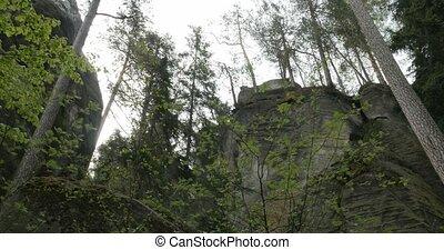 4K, Dolní Adršpach-Teplice Rocks, Czech Republic - Untouched...
