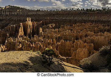 Sunrise point of Bryce Canyon