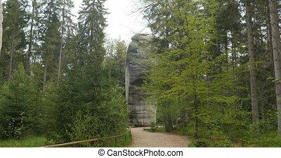 4K, Dolniacute; Adrscaron;pach-Teplice Rocks, Czech Republic...